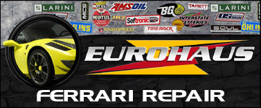 EuroHaus Ferrari RepairFerrari Valve Job and Engine Repair